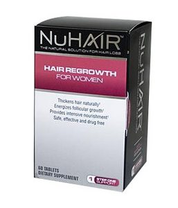 NuHair Hair Regrowth для женщин
